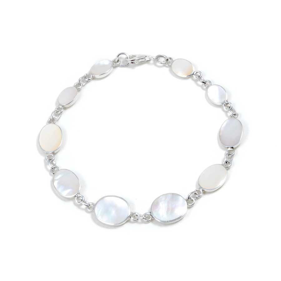 Bracelet argent pierres naturelles plusieurs tailles - Silver Bracelets - Boutique Nirvana