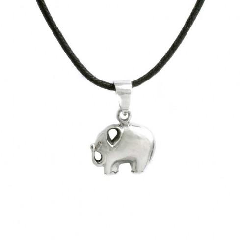 Pendentif argent petit éléphant - ARGENT - Boutique Nirvana