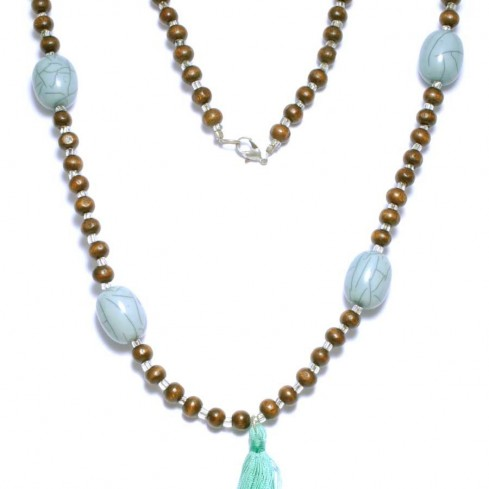 Malas wooden beads and resin - Malas - Boutique Nirvana
