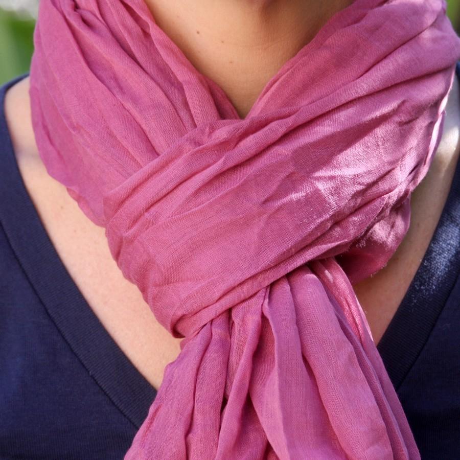 Foulards, chèche, écharpe en coton léger - CHECHES - Boutique Nirvana