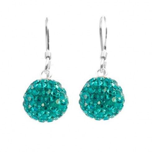 Boucles d'oreilles pendantes strass - SPARKLING - Boutique Nirvana
