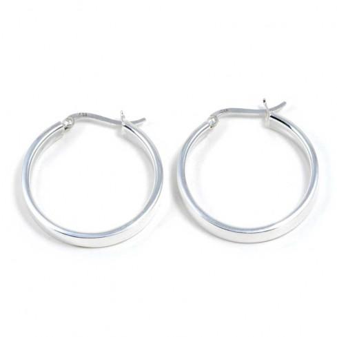 Créoles plates ⌀ 3 cm - Créoles  - Boutique Nirvana