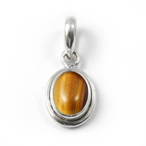 Elegant Oval Pendant - Silver Jewellery  - Boutique Nirvana