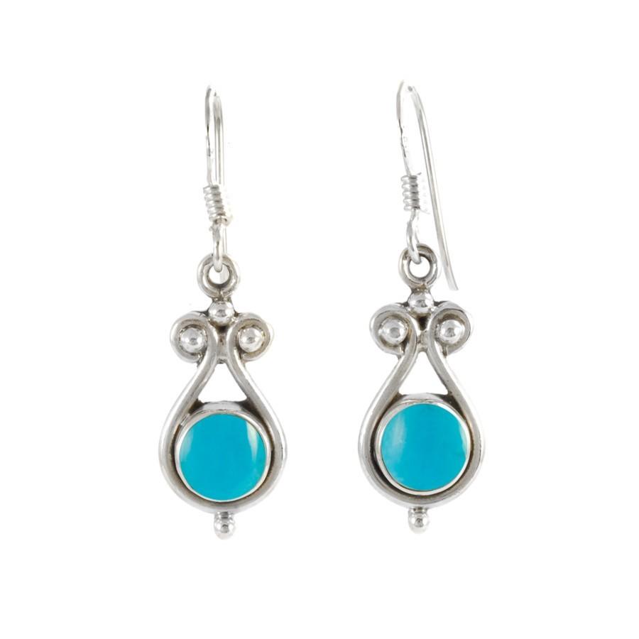Boucles d'oreilles veloutes pierres - Silver Jewellery  - Boutique Nirvana