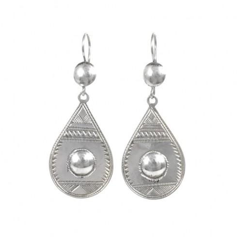 Boucles d'oreilles Touareg Lehna - Silver Jewellery  - Boutique Nirvana