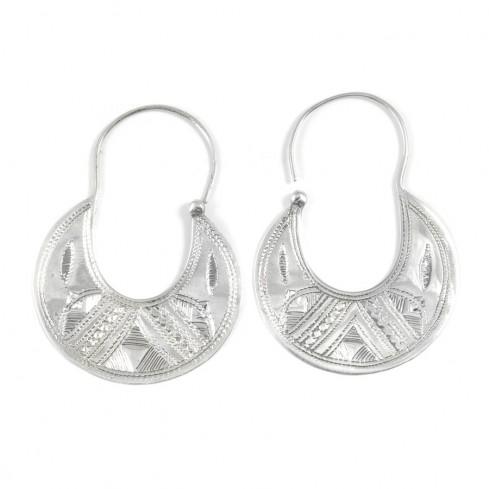 Boucles d'oreilles allongées - TOUAREG - Boutique Nirvana