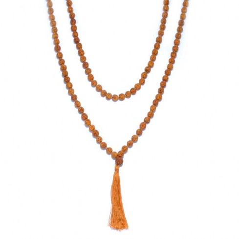 Mala perles rudraksha - Malas - Boutique Nirvana