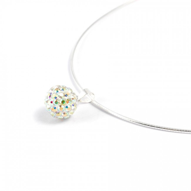 Silver wire with strass - Silver Jewellery  - Boutique Nirvana