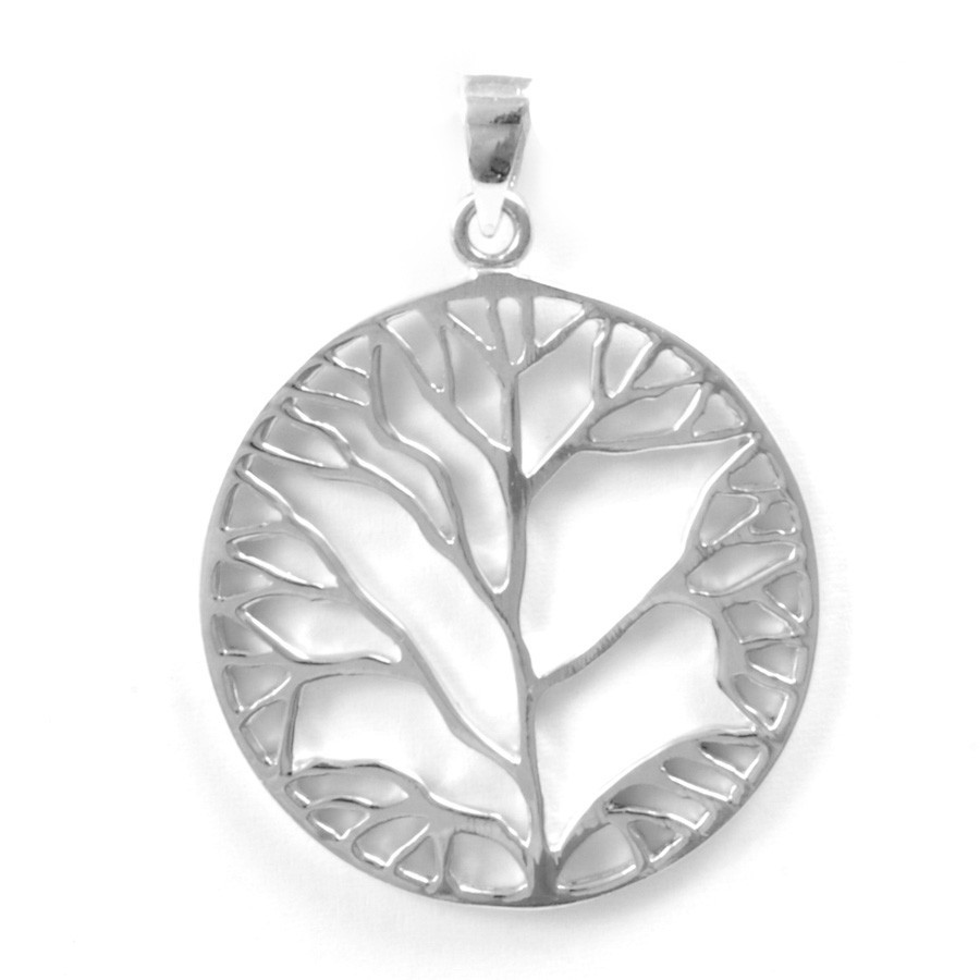 Grand pendentif arbre de vie - Tree of Life - Boutique Nirvana