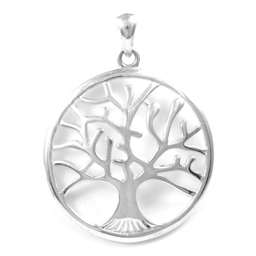 Grand pendentif bombé arbre de vie - Tree of Life - Boutique Nirvana