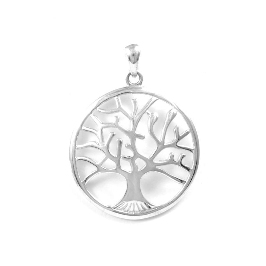 Pendentif bombé arbre de vie moyen - Tree of Life - Boutique Nirvana