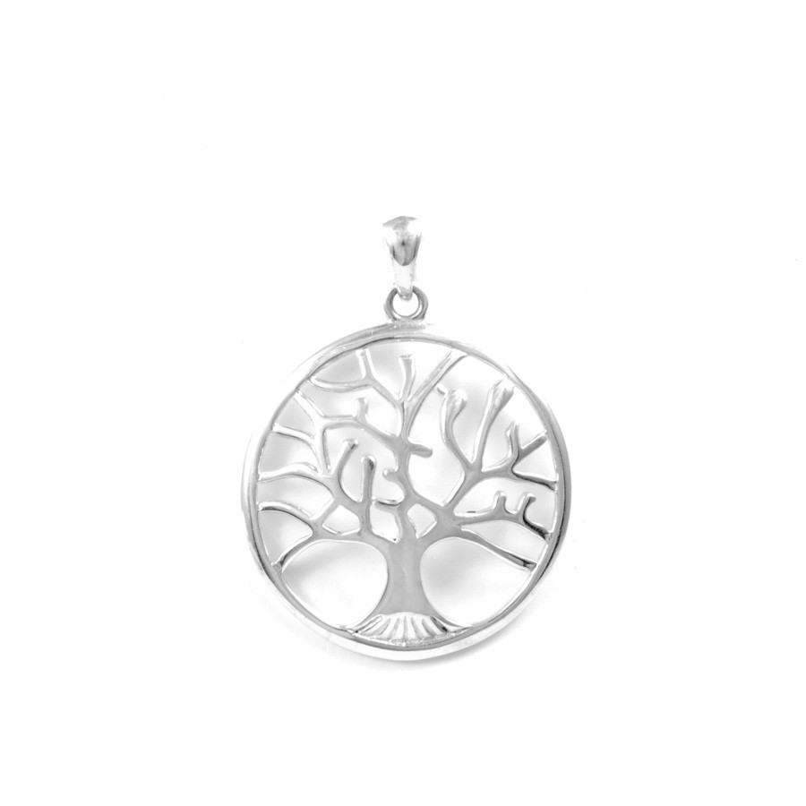 Petit pendentif bombé arbre de vie - Tree of Life - Boutique Nirvana