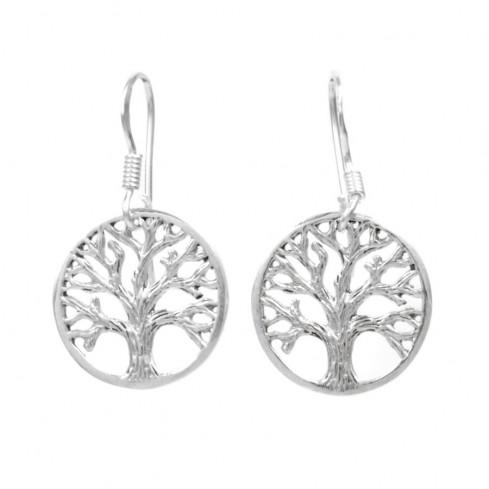 Petites boucles d'oreilles arbre de vie - ARBRE DE VIE - Boutique Nirvana