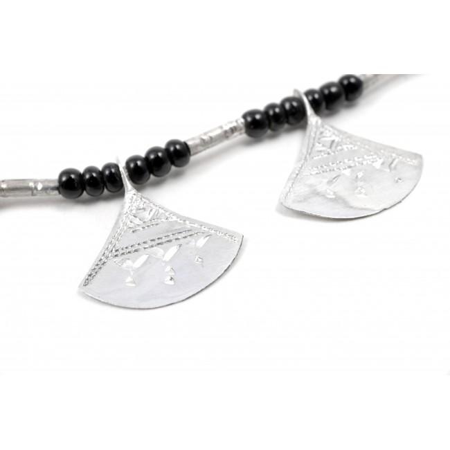 Collier Touareg multi pendentifs - Silver Necklaces - Boutique Nirvana