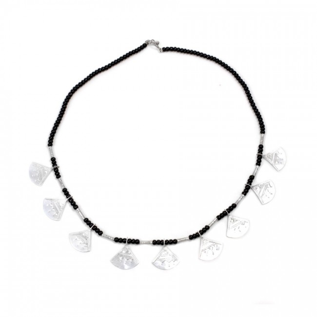 Collier Touareg multi pendentifs - Silver Necklaces - Boutique Nirvana