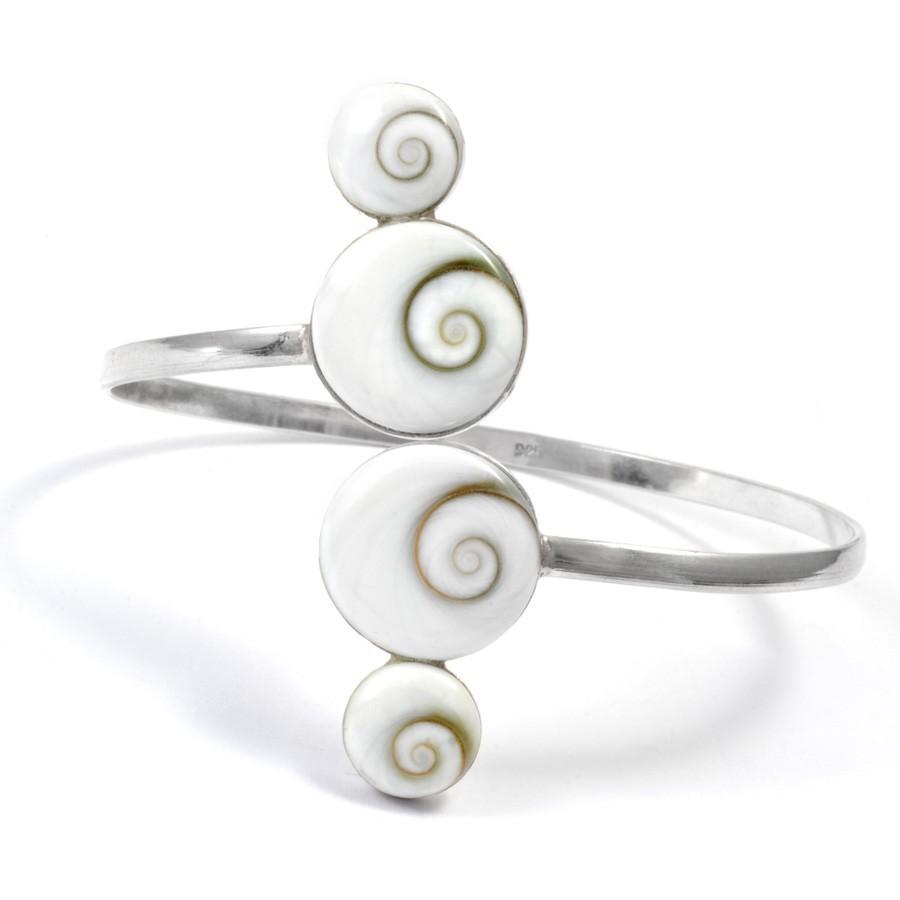Bracelet argent avec Oeil de Sainte Lucie réglable - BRACELETS ARGENT - Boutique Nirvana