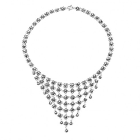 Collier long en argent - Silver Necklaces - Boutique Nirvana