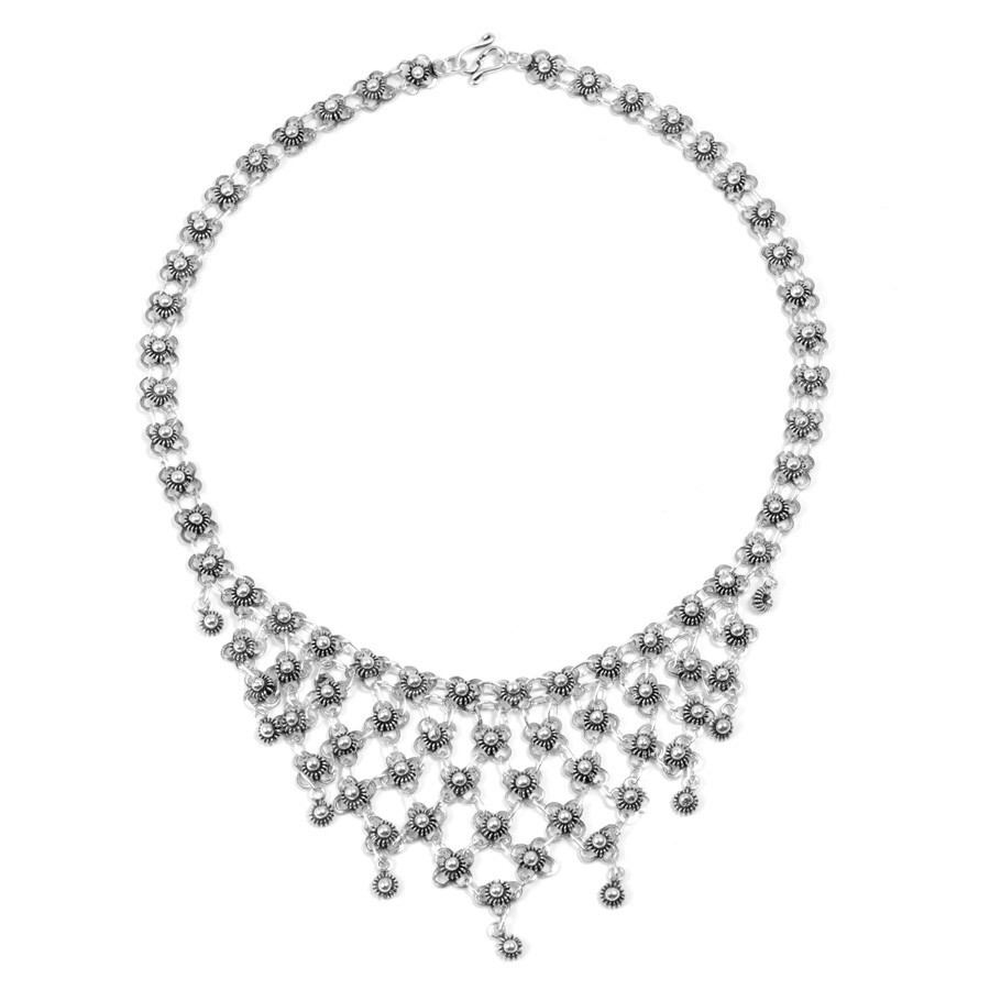 Collier moyen en argent - Silver Necklaces - Boutique Nirvana