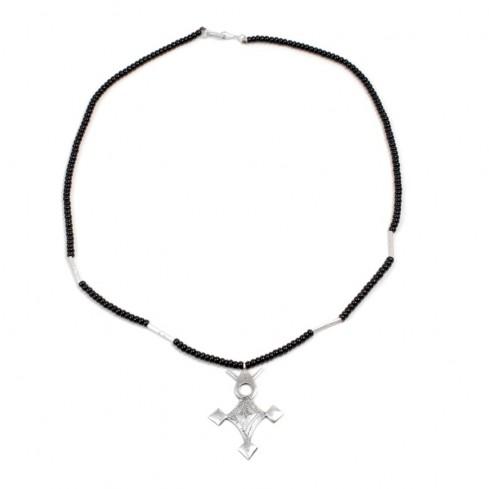 Collier croix Touareg