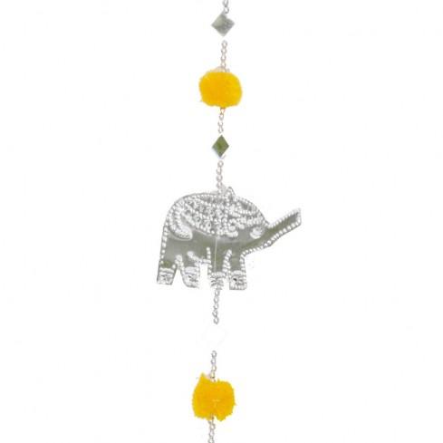 Guirlande éléphants et miroirs - Guirlandes - Boutique Nirvana