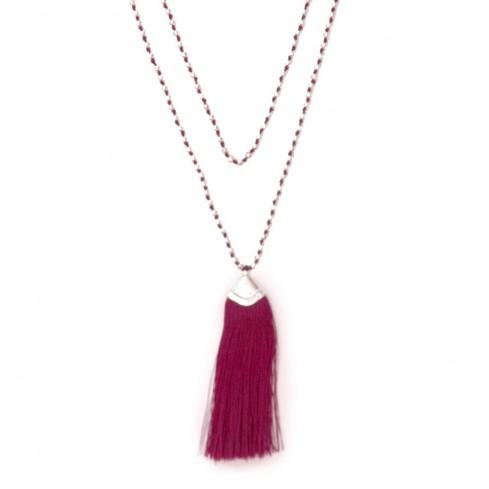 Mala perles argentées - Malas - Boutique Nirvana