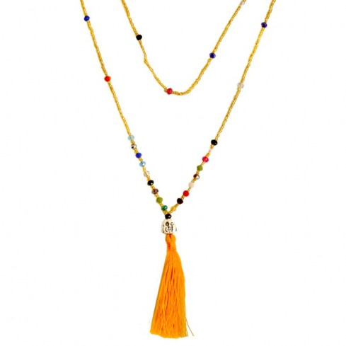 Mala happy bouddha perles fines - MALAS - Boutique Nirvana