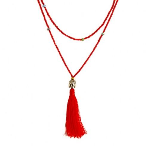 Mala tête de bouddha perles fines - Malas - Boutique Nirvana