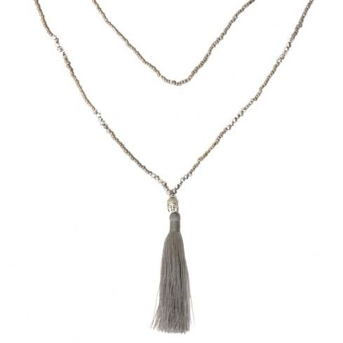 Mala bouddha perles cristal