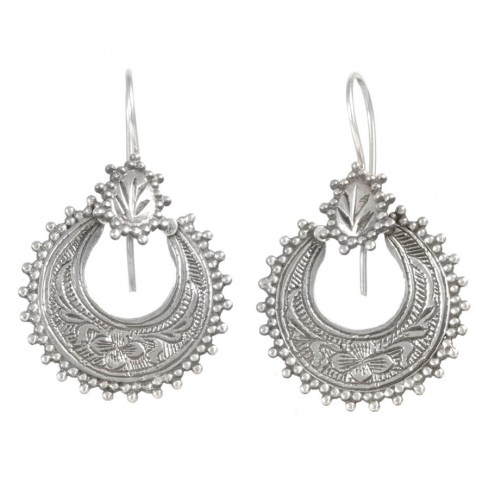 Boucles d'oreilles argent Ajala - Silver Jewellery  - Boutique Nirvana