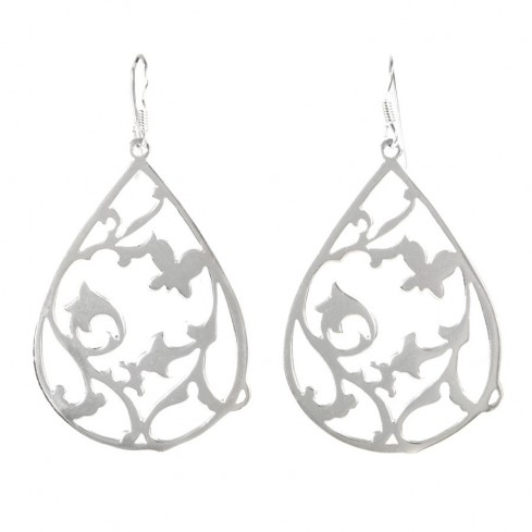 Boucles d'oreilles argent Ina - Silver Jewellery  - Boutique Nirvana