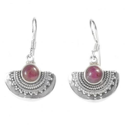 Boucles d'oreilles argent India - BIJOUX ARGENT - Boutique Nirvana