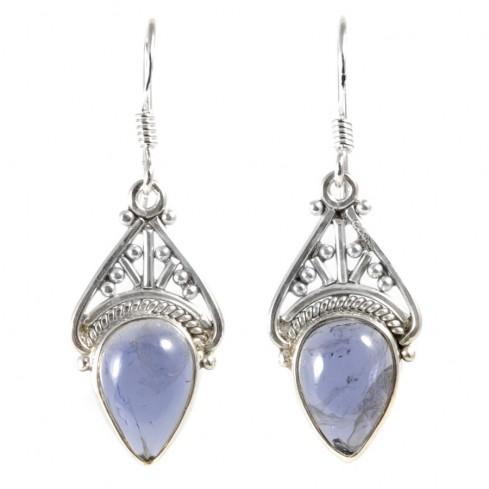 Boucles d'oreilles argent Krishna - BIJOUX ARGENT - Boutique Nirvana