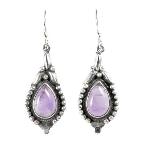 Boucles d'oreilles argent Delhi - Silver Jewellery  - Boutique Nirvana