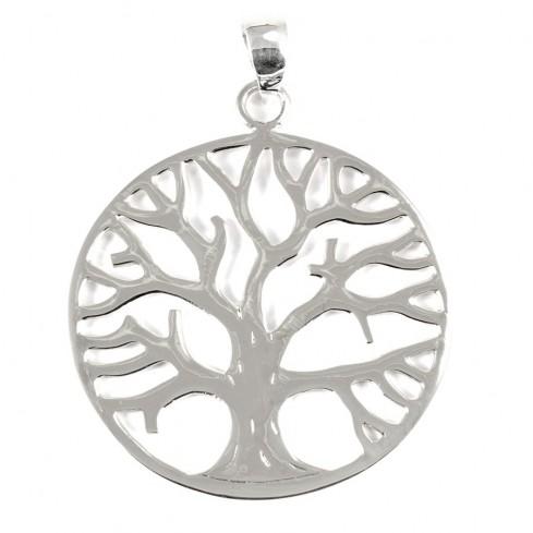 Pendentif grand arbre de vie - PENDENTIFS ARGENT - Boutique Nirvana