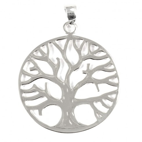 Pendentif grand arbre de vie - SILVER PENDANT - Boutique Nirvana