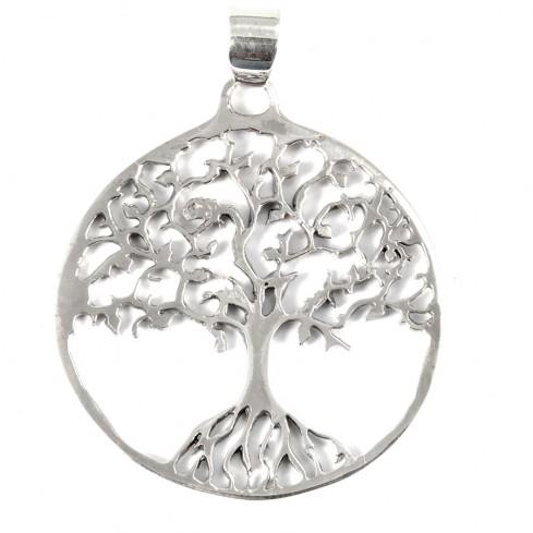 Pendentif arbre de vie spirituel - SILVER PENDANT - Boutique Nirvana