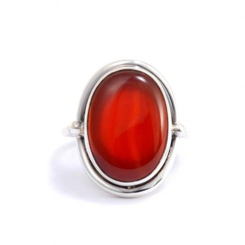 Bague argent et pierre fine Sikkim - Silver Jewellery  - Boutique Nirvana