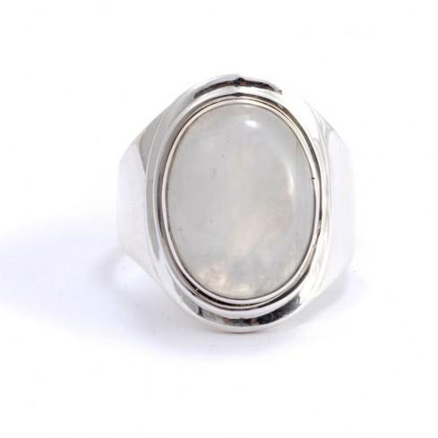 Bague Raja en argent et pierre naturelle - Silver Rings - Boutique Nirvana