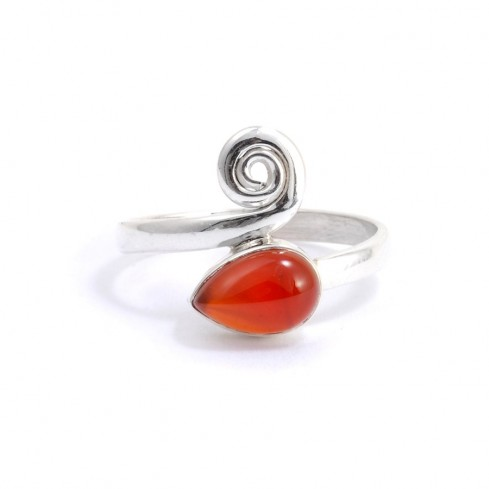 Bague argent Buddhi - Silver Rings - Boutique Nirvana