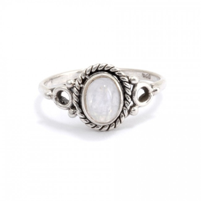 Bague fine en argent Maya - Silver Rings - Boutique Nirvana