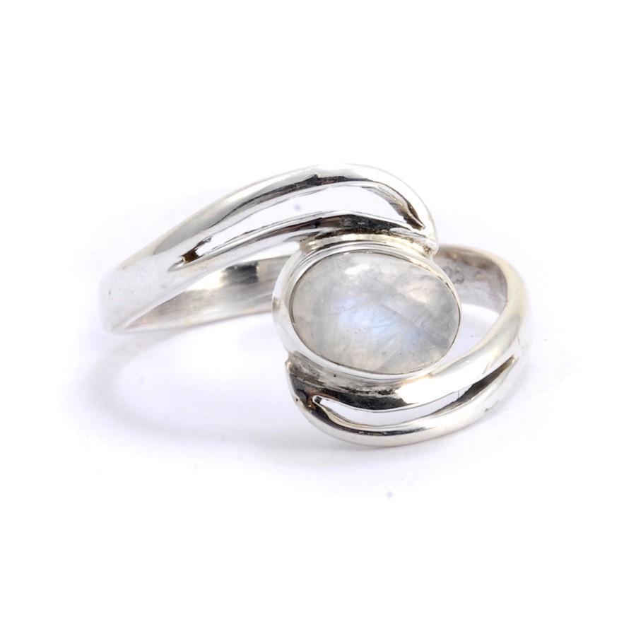 Bague fine en argent Santosha - Silver Rings - Boutique Nirvana