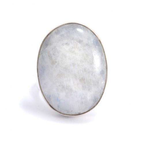 Bague argent et pierre réglable Prana - BAGUES ARGENT - Boutique Nirvana