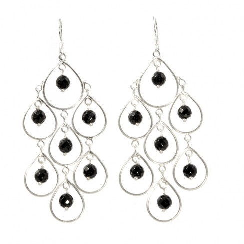 Boucles argent Diva - SILVER EARRINGS - Boutique Nirvana