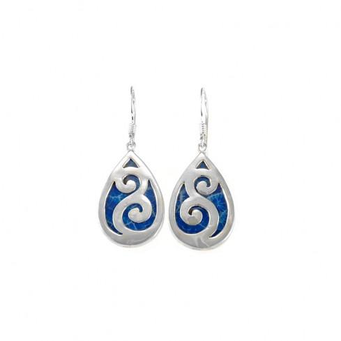 Boucles argent maorie - SILVER EARRINGS - Boutique Nirvana
