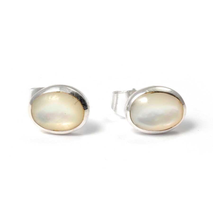 Puces d'oreilles argent et pierre - CLOUS D'OREILLES ARGENT - Boutique Nirvana