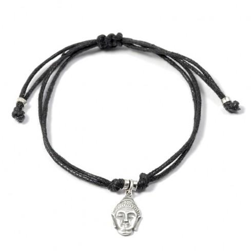 Bracelet cordon charm argent - BRACELETS ARGENT - Boutique Nirvana