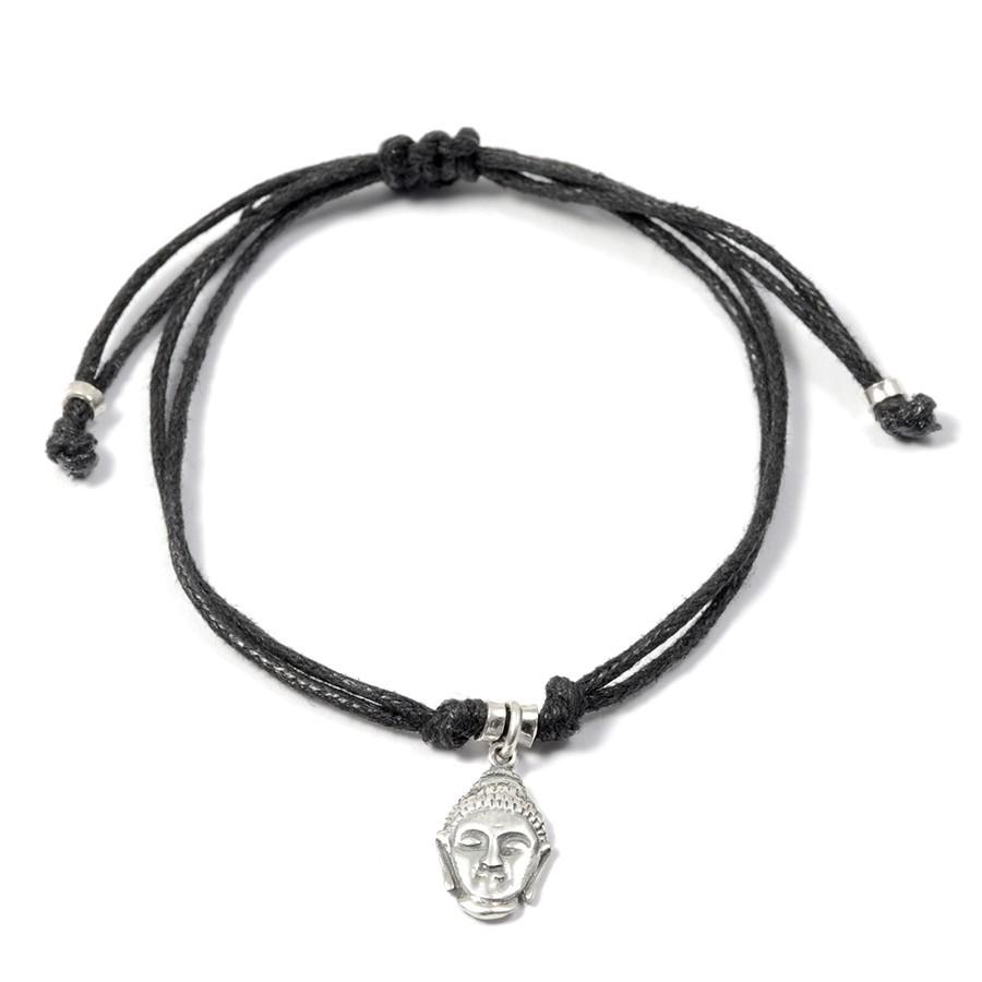Bracelet charm argent Bouddha - BRACELETS ARGENT - Boutique Nirvana