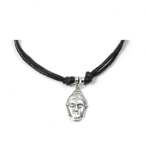 Bracelet cordon charm argent - Silver Bracelets - Boutique Nirvana