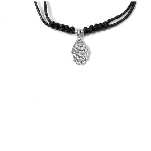 Ras de cou cordon avec charm argent - Silver Necklaces - Boutique Nirvana