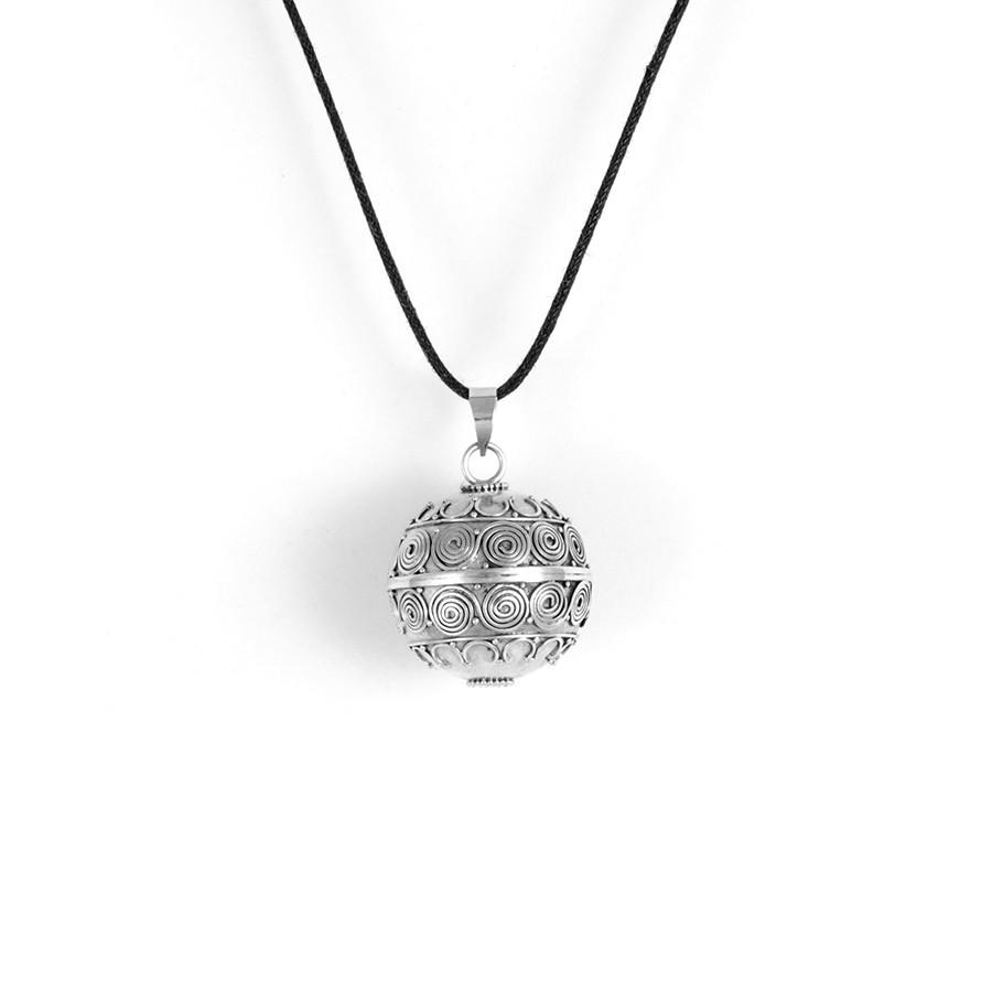 Harmony ball en argent Ashtanga - BOLAS DE GROSSESSE & CLOCHETTES DES ANGES - Boutique Nirvana